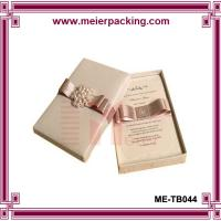 Wholesale Gift Paper Boxes,Present Packing Boxes,Wedding Favor Jewelry Box ME-TB044 from china suppliers