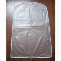Buy cheap Frosted/semitransparent PVC Garment Bag/ Suit Cover from wholesalers