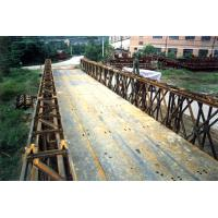Bailey Prefabricated Delta Bridge Simple structure For Military