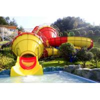 Wholesale Funny Outdoor Park Water Slide Fiberglass Tantrum Valley For 480 Riders Per Hour from china suppliers