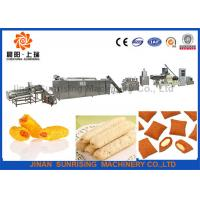 Wholesale Stainless steel core filling puffed snack food production line from china suppliers