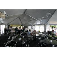 Quality Transparent Soft Window Combined Shape Aluminum Framed Outdoor Party Tent for sale