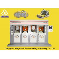 Wholesale Energy - Saving Four Stations Safety Shoe Sole Making MachineWith Servo Motor from china suppliers