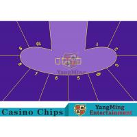 Wholesale Anti - Fade Baccarat Table Layout For 10 Players In Casino Gambling Games from china suppliers