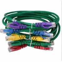 Wholesale Patch Cord Cat-5e 8 Colors Category 5e RJ45 Cable de Patches UTP 26AWG Stranded Copper Patch Cables Category 5e from china suppliers