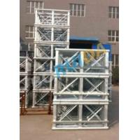 Wholesale Red Painted Double Cage Building Site Hoist Equipment 1600kg , Building Materials Lift from china suppliers