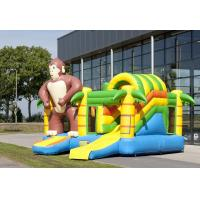 Wholesale Multiplay Monkey Inflatable Combo Customized Inflatable Bouncy House from china suppliers
