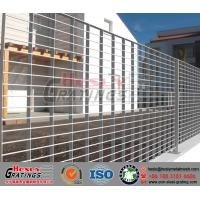 Quality Painted Press-locked Steel Grating Fence for sale