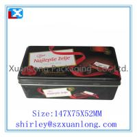 Quality Rectangle Chocolate Tins/Chocolate Box/Chocolate Tin Can www.xuanlongpackagingco for sale