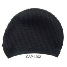 Buy cheap 100% Silicone shark swim cap,funny swimming cap,water drop swimming caps from wholesalers