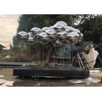 Wholesale Wangstone Original Design Cloud Stainless Steel Sculpture,Mirror Polished Finish from china suppliers