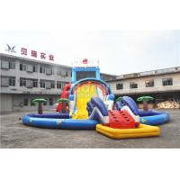 Quality 0.55mm PVC Tarpaulin Giant Inflatable Slide For Kids , 1 - 3 Years Warranty for sale