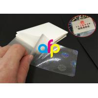Wholesale Hot Lamination Machine Suit Laminating Pouch Film , Glossy Thermal Laminating Pouches from china suppliers