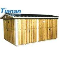 Wholesale 12KV Combined Compact Transformer Substation Safe And Reliable Prefabricated Substation from china suppliers