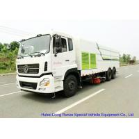 China KL 6x4 LHD / RHD Road Sweeper Truck , Mechanical Street Sweeper for Washing for sale