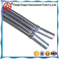 Wholesale Factory price 1/2 Inch Stainless Steel Flexible Braided Metal Hose for oil water steam with braided sleeving from china suppliers