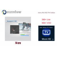 Wholesale Taiwan Moon Iptv Apk , Hk Iptv App Android 1 / 3 / 6 / 12 Months Subscription from china suppliers