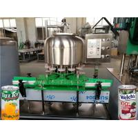 Buy cheap SUS304 Beverage Can Filling Machine / Tin Can Sealing Machine For Juice , Tea from wholesalers
