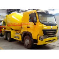 Wholesale EuroII New 10tires SINOTRUK INTERNATIONAL HOWO A7 Concrete Mixer Truck 10CBM 371HP 6X4 LHD from china suppliers