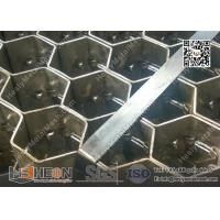 Wholesale 2.0X20X50mm 310S Hexmesh for Refractory Lining   China Hexsteel Manufacturer from china suppliers