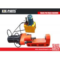 Wholesale C type portable hydraulic track link pin press machine for excavator&bulldozer from china suppliers