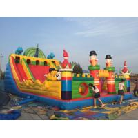 Wholesale PVC Material Children Inflatable Playground Slide Castle Type Bouncy Castle Games from china suppliers