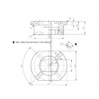B-42539 LV transformer bushing insulator drawing
