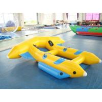 Wholesale Cool Inflatable Water Toys , Yellow And PVC Tarpaulin Inflatable Flying Fish from china suppliers