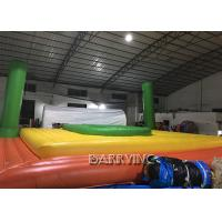 Wholesale Spain Commercial Grade PVC Inflatable Beach Volleyball Bossaball Court For Bench from china suppliers
