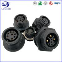 PA Screw Type,Lock bayonet Type,  20A Middle Series  IP67/IP68   waterproof connector and wire harness for Lighting