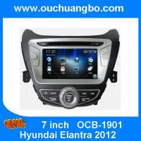 Wholesale Ouchuangbo car Stereo Radio GPS Sat Nav Player for Hyundai Elantra 2012 USB SD Canada map from china suppliers