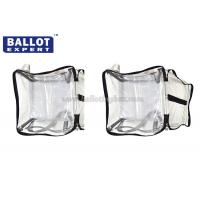 Quality Non - Toxic Recycled Collapsible PVC Storage Bag For Ballots Tickets for sale