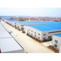 China Prefab Steel Warehouse Buildings / Metal Building Framing Components Fabrication for sale
