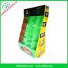 Buy cheap Point of sale display ideas 12 pockets Custom cardboard floor display stand rack from wholesalers