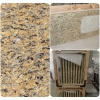 Wholesale Venetian Gold Solid Granite Worktops For Bathroom Vanity / Kitchen from china suppliers