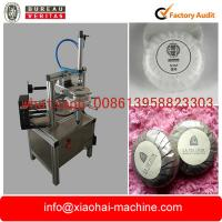 Wholesale semi automatic round soap pleat type wrapping machine for hotel bath from china suppliers