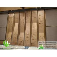 Buy cheap Perforated aluminum sheet for Wall cladding metal curtain wall from wholesalers