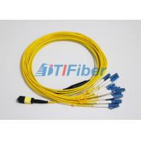 Wholesale LC SM MTP / MPO Fiber Patch Leads With UPC Optical Fiber Connector from china suppliers