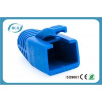 Wholesale Blue Rubber Network Cable Accessories RJ45 Plug Boot For Cat7 Patch Cable from china suppliers