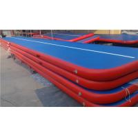 Wholesale Doubla Wall Fabric Inflatable Air Track Air Mattress Gymnastics Weather Proof from china suppliers
