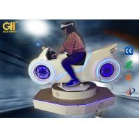 China White / Black 1 Player Vr Game Machine Car Driving Simulator Coin Operated on sale