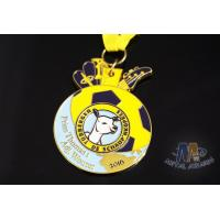 Buy cheap Personalized Enamel Medals Custom Medallions Giraffe Shaped 50mm Size from wholesalers