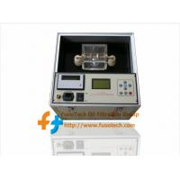 Quality Series FOT Fully Automatic Transformer Oil BDV Tester for sale