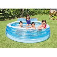 Wholesale PVC Indoor / Outdoor Swim Center Family Lounge Pool For kid & Adult With Backrest from china suppliers