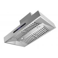"""Quality 10"""" 1680cfm Professonal Square Box New Stainless Steel Range Hood Baffle Filter for sale"""