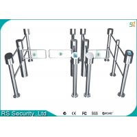 Wholesale IR Sensor Multichannel Silvery Swing Gate Barrier For Community from china suppliers