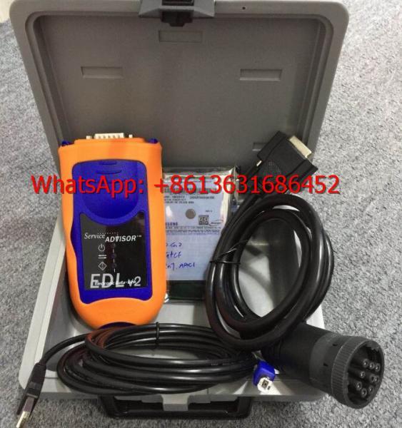 Quality John Deere Service Advisor EDL V2 Electronic Data Link Truck Diagnostic Kit with T420 laptop John Deere scanner tool for sale