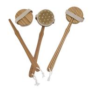 China Long Handle Bath Body Brush Massager Pin Bristle Round Head on sale