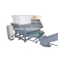 Buy cheap Nylon Wire Single Shaft Shredder Machine With CNC Processing Rotor / PLC Program from wholesalers