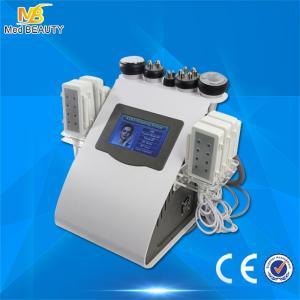 Wholesale Ultrasonic Cavitation Vacuum Liposuction Laser Bipolar Roller Massage RF Beauty Machine from china suppliers